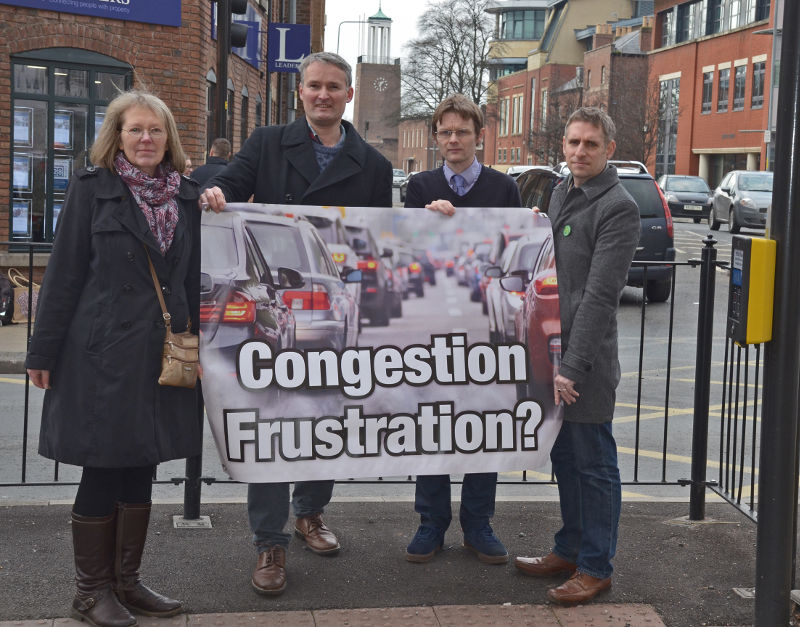 Green Party vision to tackle congestion