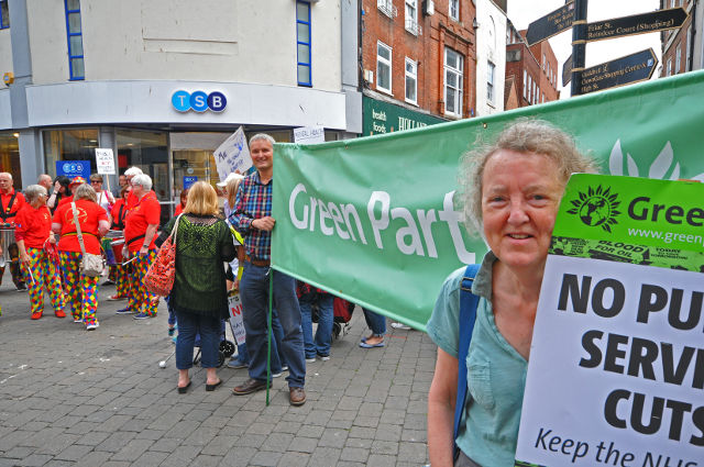 Worcester Green Party | Green Party Stands up for the NHS