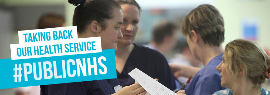 Taking back our health service